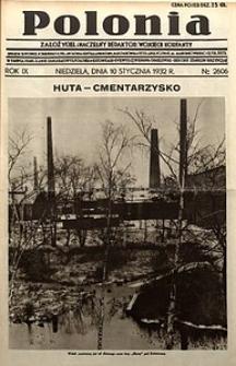 Polonia, 1932, R. 9, nr2606