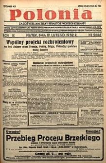 Polonia, 1932, R. 9, nr2646