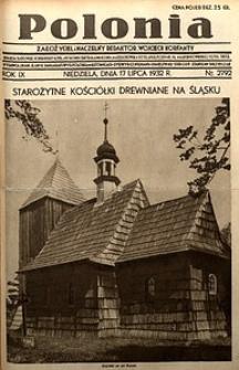 Polonia, 1932, R. 9, nr2792