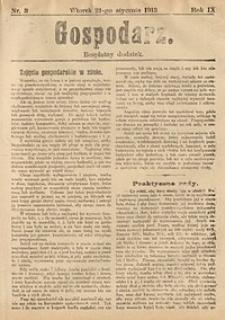 Gospodarz, 1913, nr3