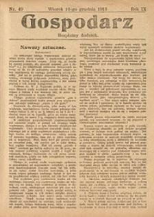 Gospodarz, 1913, nr49