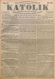 Katolik, 1918, R. 51, nr22
