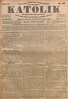 Katolik, 1918, R. 51, nr59