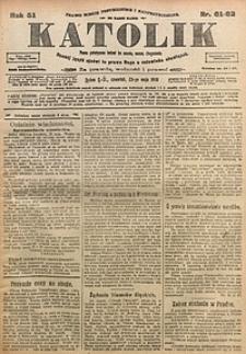 Katolik, 1918, R. 51, nr61/62