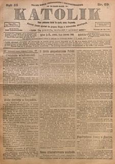 Katolik, 1918, R. 51, nr69