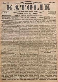 Katolik, 1918, R. 51, nr81