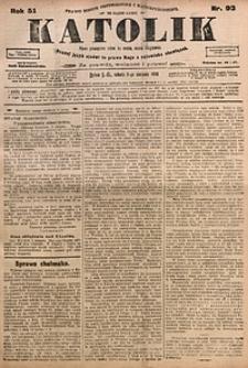 Katolik, 1918, R. 51, nr93