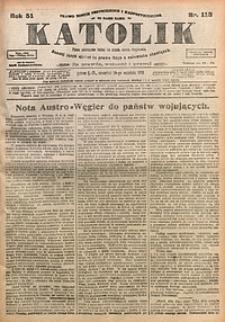 Katolik, 1918, R. 51, nr113