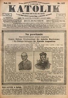 Katolik, 1918, R. 51, nr117