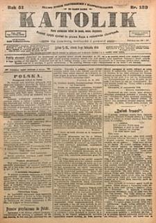 Katolik, 1918, R. 51, nr133