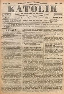 Katolik, 1918, R. 51, nr142