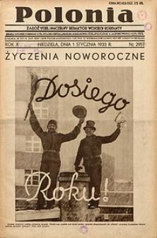 Polonia, 1933, R. 10, nr2957 [właśc. 2956]