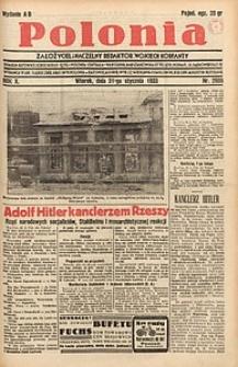 Polonia, 1933, R. 10, nr2986