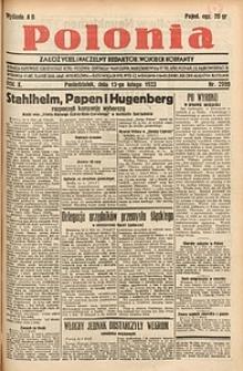 Polonia, 1933, R. 10, nr2999
