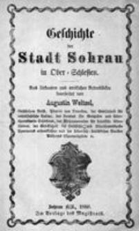 Geschichte der Stadt Sohrau in Ober-Schlesien