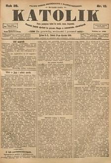 Katolik, 1906, R. 39, nr12