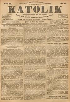 Katolik, 1906, R. 39, nr19