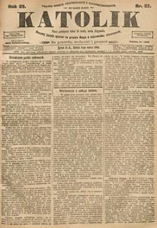 Katolik, 1906, R. 39, nr27