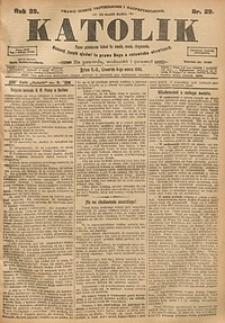 Katolik, 1906, R. 39, nr29