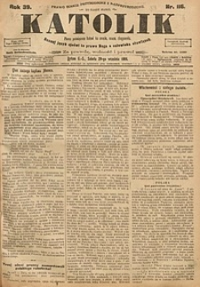 Katolik, 1906, R. 39, nr116