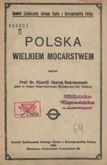 Polska wielkiem mocarstwem