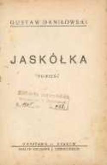 Jaskółka : powieść.