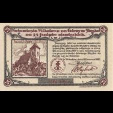Mikołów. Pieniądz zastępczy 1921 r. - 25 Pfennig