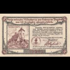 Mikołów. Pieniądz zastępczy 1921 r. - 50 Pfennig