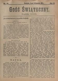 Gość Świąteczny, 1911, nr45