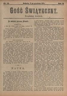 Gość Świąteczny, 1911, nr49