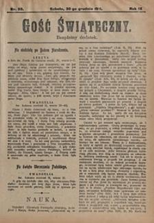 Gość Świąteczny, 1911, nr53