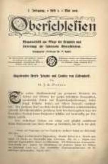 Oberschlesien. Monatsschrift zur Pflege der Kenntnis und Vertretung der Interessen Oberschlesiens, H. 2