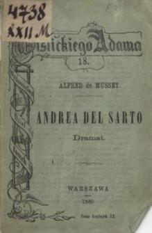Andrea del Sarto : dramat w 3 aktach