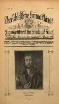 Oberschlesische Heimatklänge, 1928, Jg. 4, April
