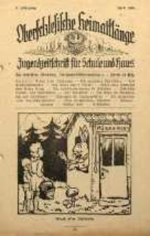 Oberschlesische Heimatklänge, 1930, Jg. 6, April