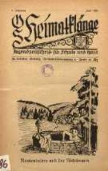 OS Heimatklänge, 1932, Jg. 8, Juli