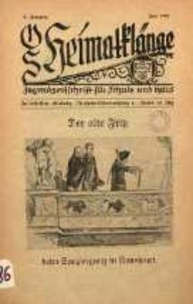 OS Heimatklänge, 1933, Jg. 9, Juni