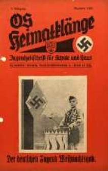 OS Heimatklänge, 1933, Jg. 9, Dezember