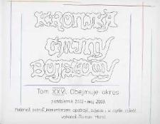 Kronika gminy Bojszowy. Tom XXVI. Obejmuje okres: październik 2002 - maj 2002