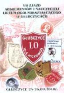 VII zjazd absolwentów i nauczycieli Liceum Ogólnokształcącego w Głubczycach.