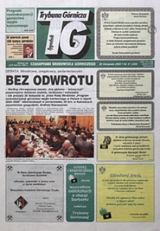 Trybuna Górnicza, 2002, nr47