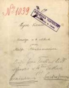 Łyse konie. Komedya w 4 aktach przez Adolfa Abrahamowicza