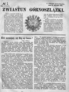 Zwiastun Górnoszlązki, 1871, R. 4, nr 3