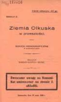 Ziemia Olkuska w przeszłości. Szkice monograficzne z ilustracjami