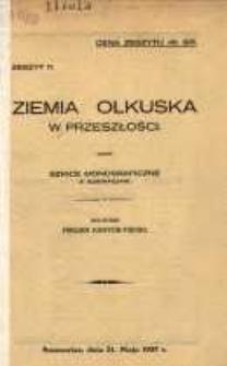 Ziemia Olkuska w przeszłości. Z. 11