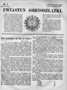 Zwiastun Górnoszlązki, 1871, R. 4, nr 5
