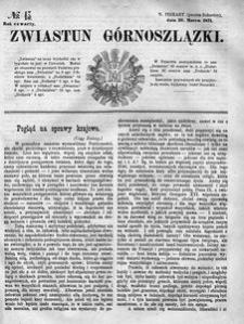 Zwiastun Górnoszlązki, 1871, R. 4, nr 13