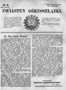 Zwiastun Górnoszlązki, 1871, R. 4, nr 18