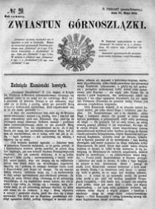 Zwiastun Górnoszlązki, 1871, R. 4, nr 20