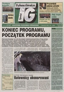 Trybuna Górnicza, 2003, nr1